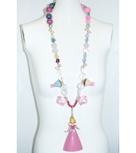Fruity Rascal Pink Princess Necklace