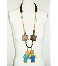 Assorted Flavor Mama & Papa Necklace