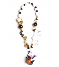 Pepe Le Pew Vintage Necklace