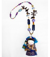 I Love Thailand Doll Number 2 Necklace